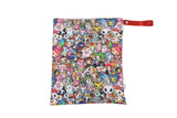 Itzy Ritzy Travel Happens Large Sealed Wet Bag- Tokidoki Allstars