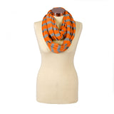 Itzy Ritzy Nursing Scarf- Baby Guy Orange