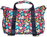 Itzy Ritzy Diaper Bag- Triple Threat Convertible Rosy Pop
