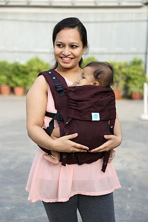 9aca87efbee Soul Slings AnoonA Baby Carrier- Lacre – wrappedincloth.com