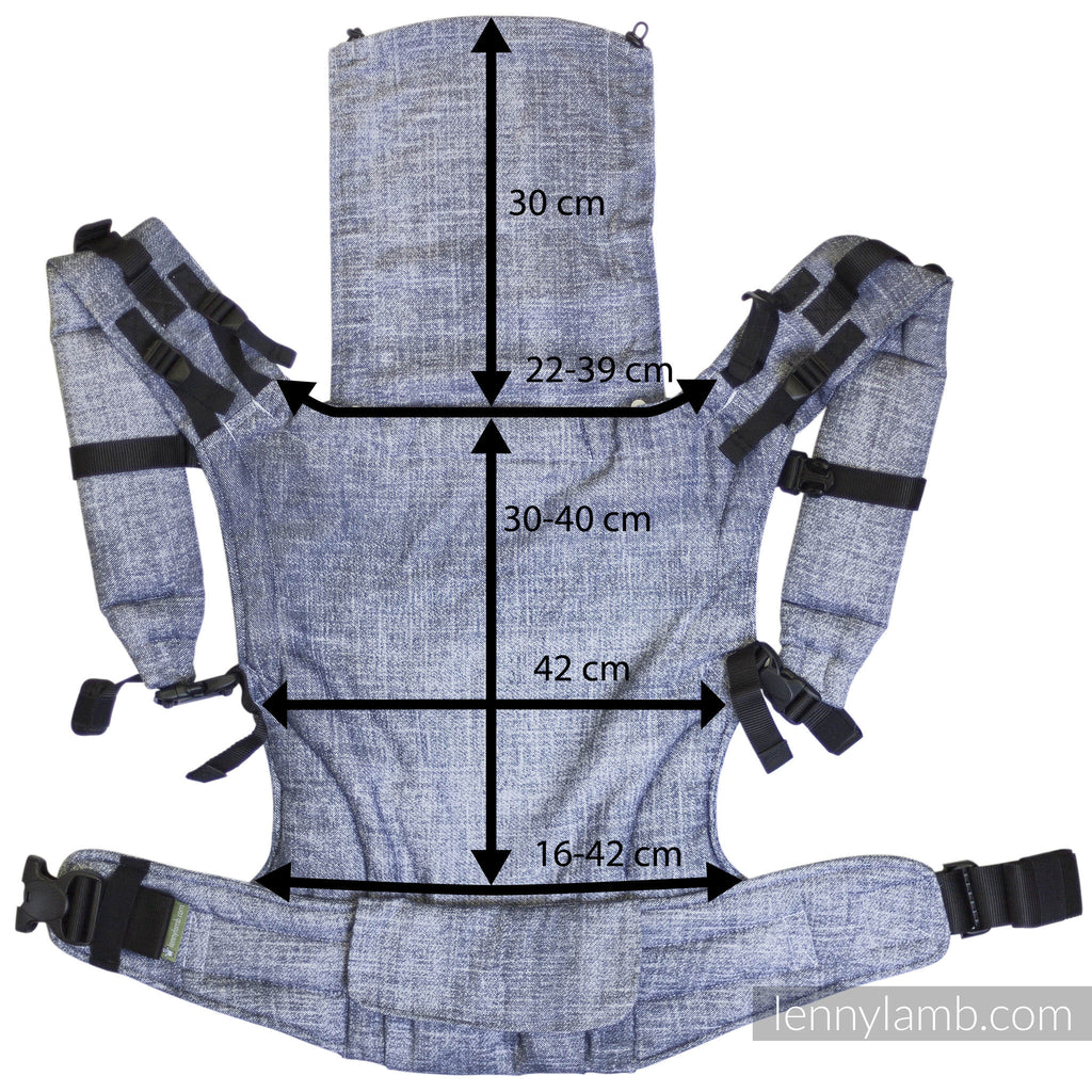 Lenny Lamb LennyUp Baby Carrier- Little Herringbone Inspiration