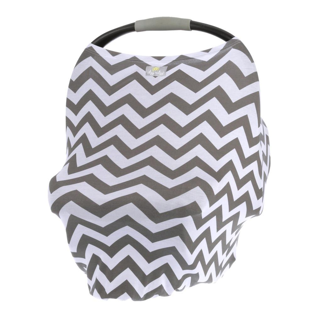Itzy Ritzy - Mom Boss 4-IN-1 Multi-Use Nursing Cover, Car Seat Cover, Shopping Cart Cover and Infinity Scarf