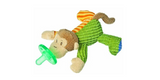 Mary Meyer Wubbanub Plush Pacifier - Mango Monkey