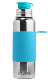 Pura Sport- 28oz Stainless Steel Bottle - Aqua Blue