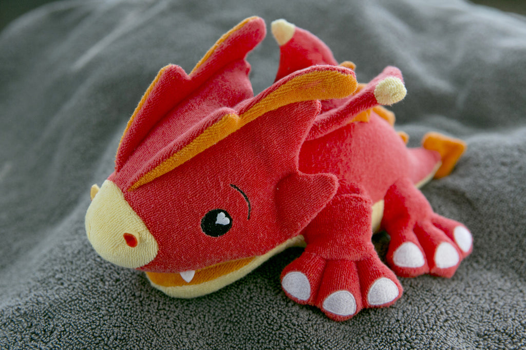 SoapSox Plush Sponge- Scorch the Dragon