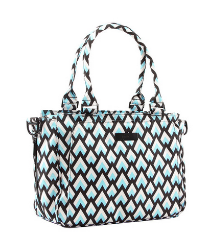 Jujube Be Classy Structured Tote - Black Diamond