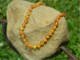 Amber Baby Necklace- Raw Honey