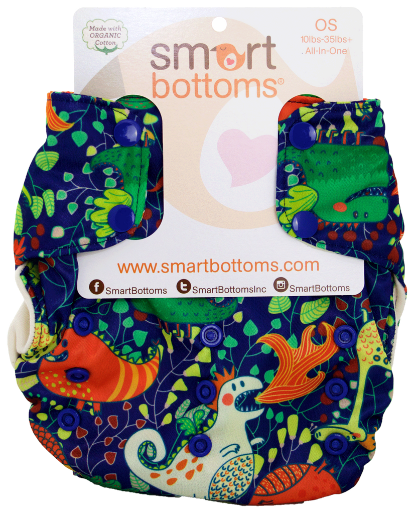 Smart Bottoms Smart One 3.1 Cloth Diaper- Heinrich