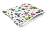 Itzy Ritzy Snack Happens Reusable Snack and Everything Bag- Tokidoki Mermicorno All Stars