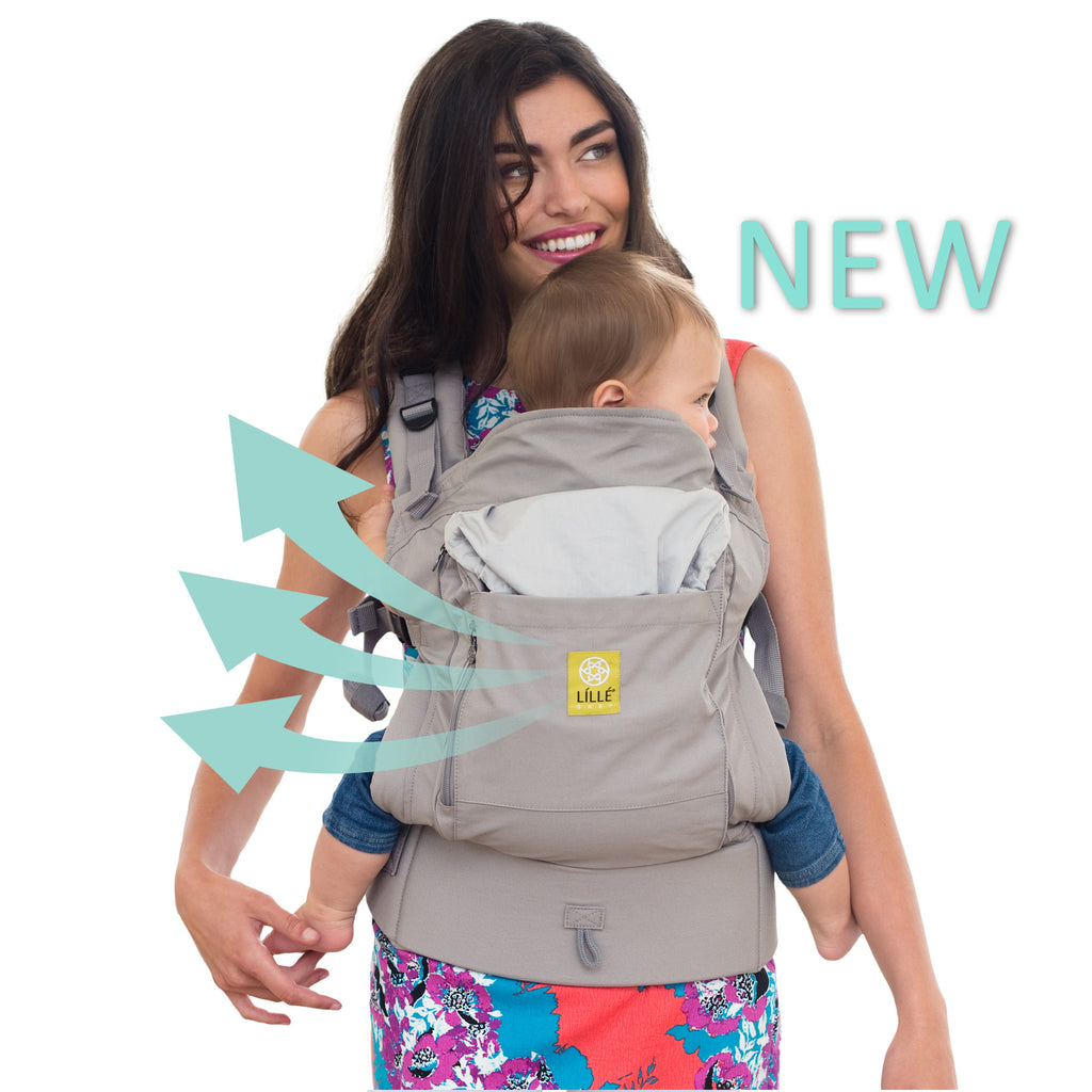 Lillebaby Essentials All Seasons Baby Carrier- Stone