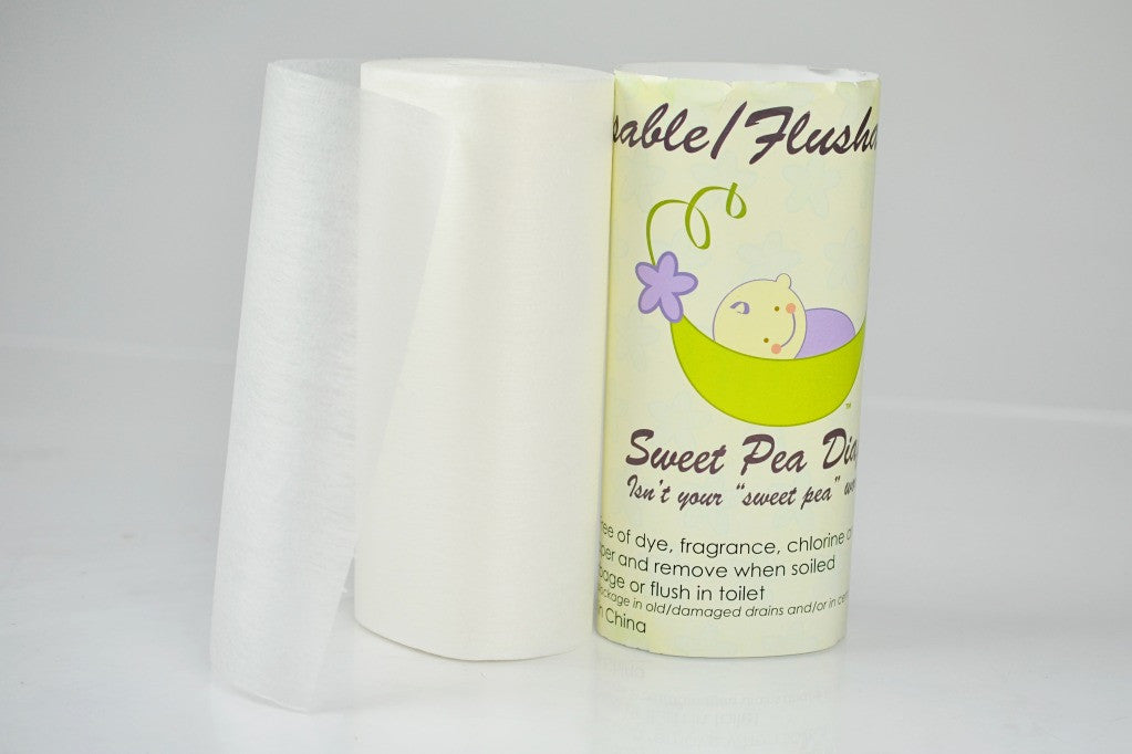 Sweet Pea Biodegradable Flushable Liners
