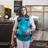 Lillebaby Complete Embossed Baby Carrier- Teal