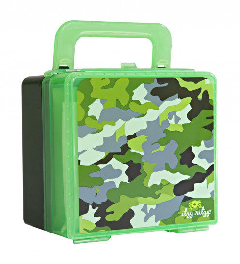 Itzy Ritzy Bento Insulated Lunch Box- Camo