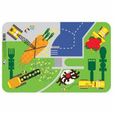 Construction Placemat by Constructive Eating