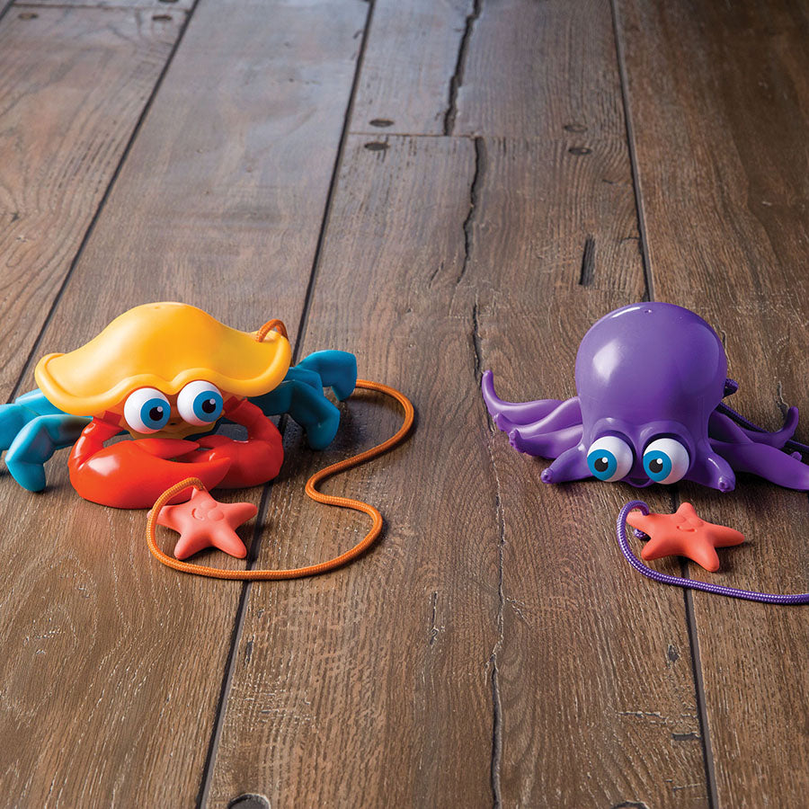 Inky and Crabby by Fat Brain Toys