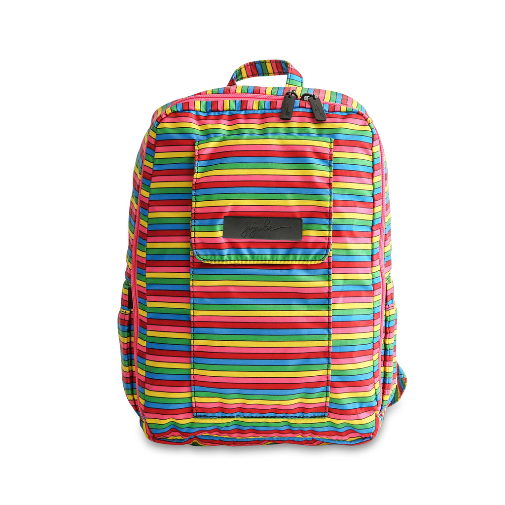 Jujube Cut up Shop- Rainbow Stripes Mini Be