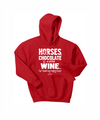 Horse, Chocolate and Wine...
