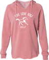 Live Love Ride Cozy Lightweight Hoodie