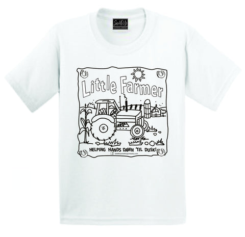 Saddle Up Color-Me-Tee
