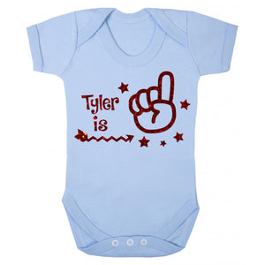1st Birthday personalised vest