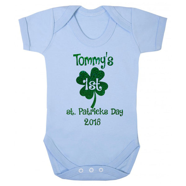 st. patricks day baby clothes