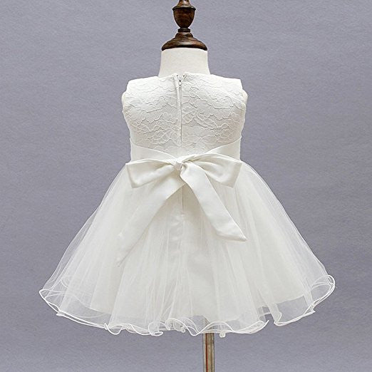 Lace 2 piece Christening Gown