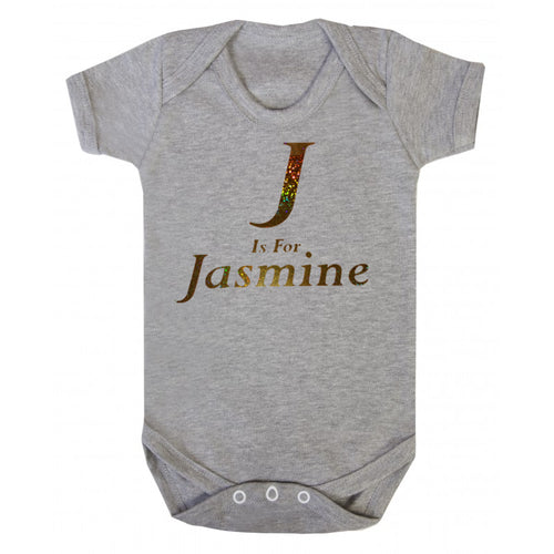 Personalised Initial Body Suit