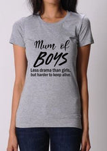 Mum of Boys Shirt