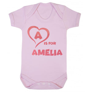 Personalised Baby Name Vest