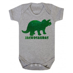 Personalised Baby Body Suit - Dinosaur