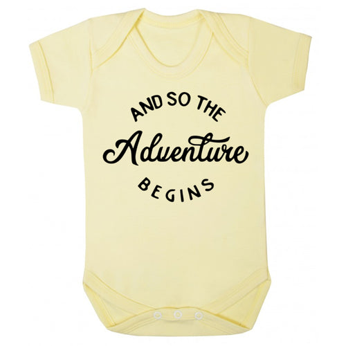 The Adventure Begins Vest