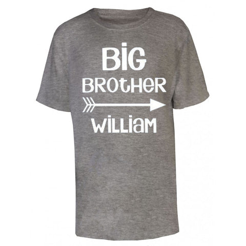 Big Brother Personalised Name T Shirt