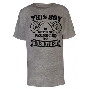 Boys Promoted to big Brother T Shirt