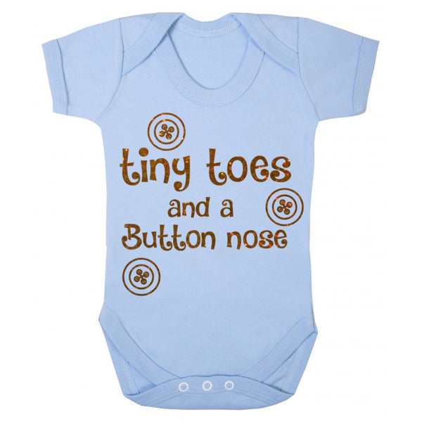 Button Nose Baby Vest