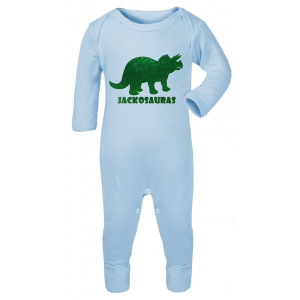 Personalised dinosaur Baby Grow
