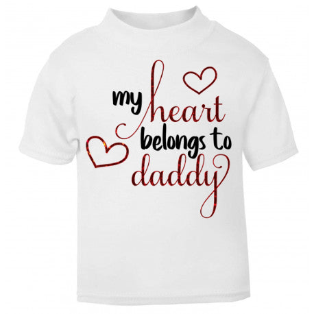 My Heart Belongs To Daddy Shirt