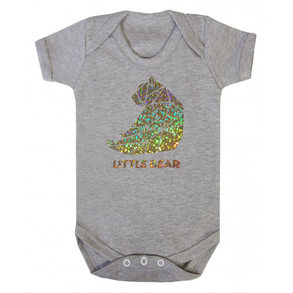 Sparkling Baby Bear Body Suit