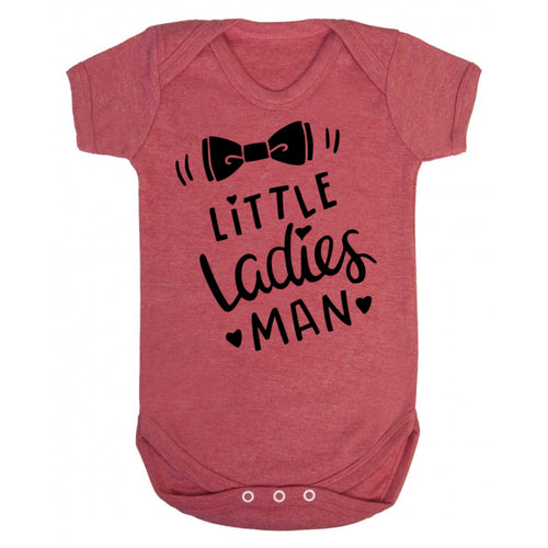 Little Ladies Man Body Suit