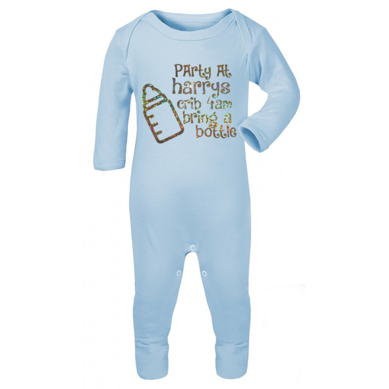 Personalised Party baby Romper