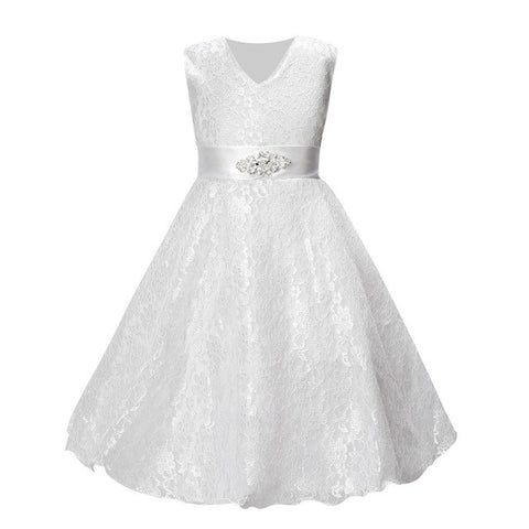 'Louise' Flower Girl A-Line Dress