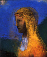 The Druidess by Redon