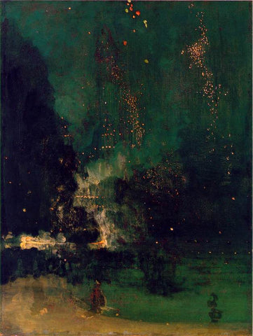 The Falling Rocket by James MacNeil Whistler