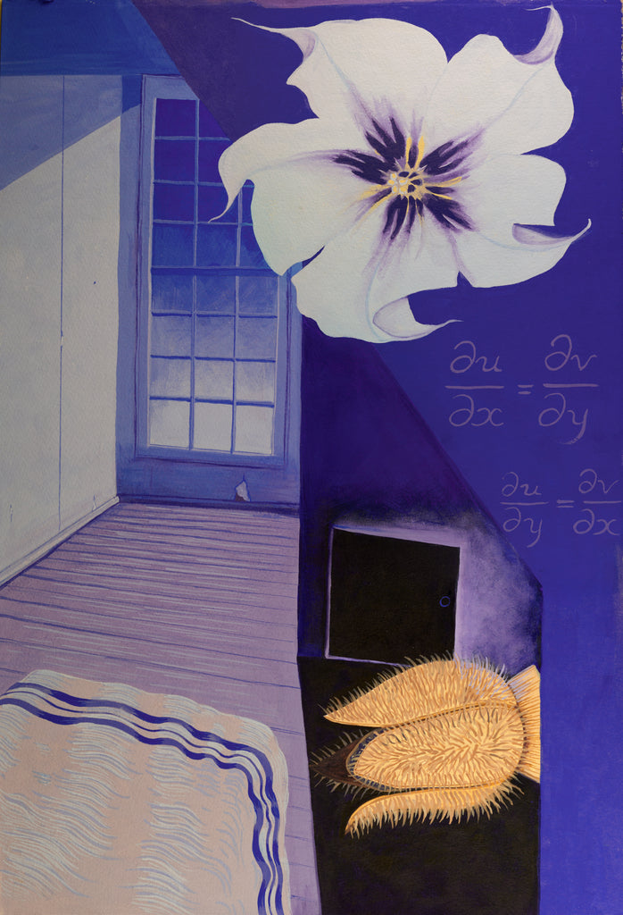 The Dreams in the Witch House Painting