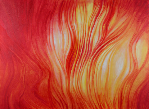Sun Abstract Painting
