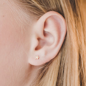 Mini Star Hypoallergenic Earrings