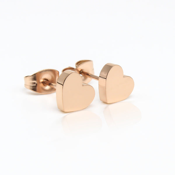 Love Heart Hypoallergenic Earrings