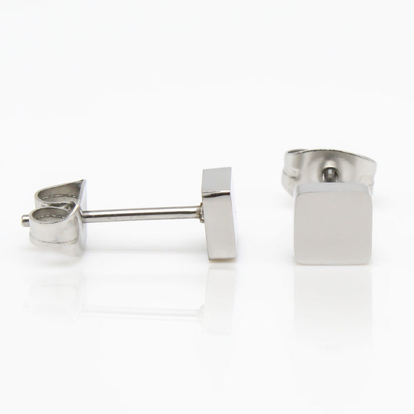 Square Stud Hypoallergenic Earrings