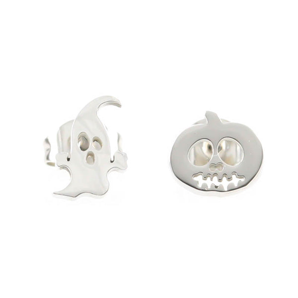 Ghost & Pumpkin Hypoallergenic Earrings