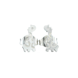 Giraffe Stud Hypoallergenic Earrings