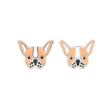 Bulldog Stud Hypoallergenic Earrings